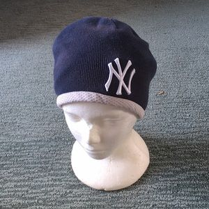 NEW ERA Yankees Cap Hat Beanie Blue Authentic MLB